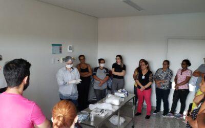 HMAP treina colaboradores para atender casos suspeitos de coronavírus
