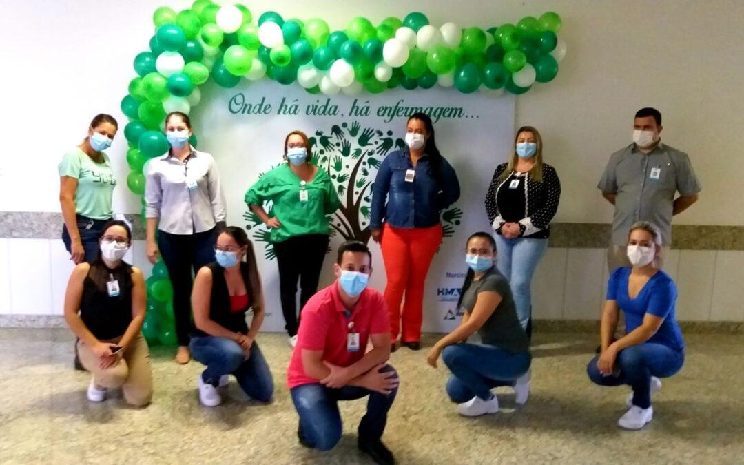 Semana Brasileira de Enfermagem é celebrada no HMAP