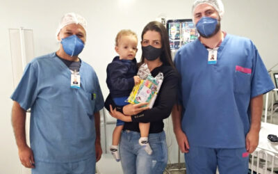 Entrega de presentes anima o Dia da Infância no HMAP